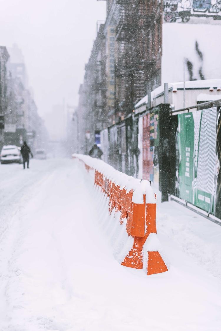 NYC Bomb Cyclone 2018 - tutes | ello