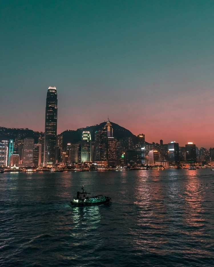 Hong Kong Victoria Harbour Oran - ngantonioni | ello