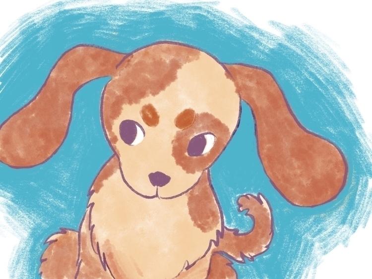 doggy doodle - ipadpro, procreate - jsmney | ello