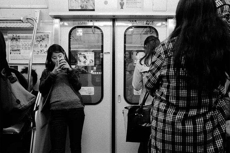 Serie Regard de Gaikokujin - subway - adrienblot | ello