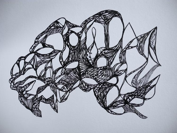 castle sky Ink paper - 31,5 24  - uleedee   ello
