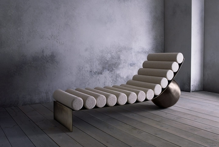 CURVED CHAISE Anna Karlin Read  - thetreemag | ello