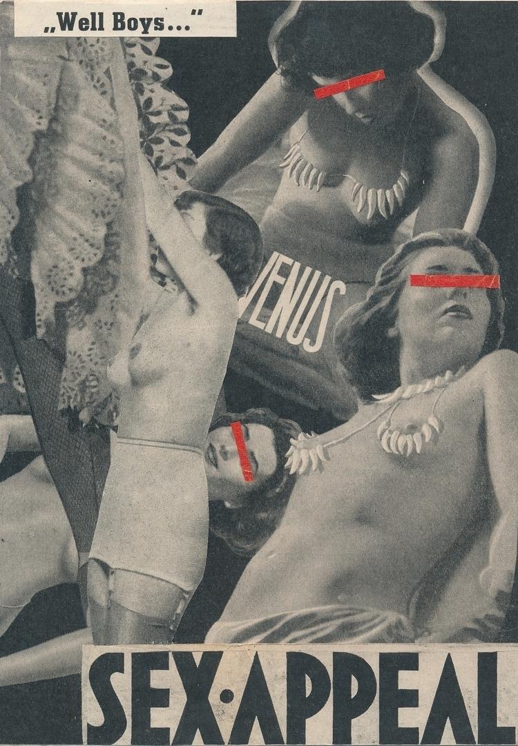 Sex appeal cutpaste/2017 - newwork - papiergedanken-collage-art | ello
