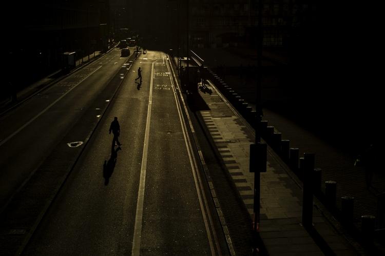 Waterloo - London, shadows, fujifilm - paulbence | ello