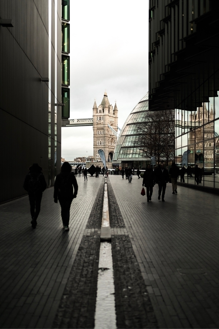 Busy day Tower Bridge - london, londonuk - whoisjimmy | ello