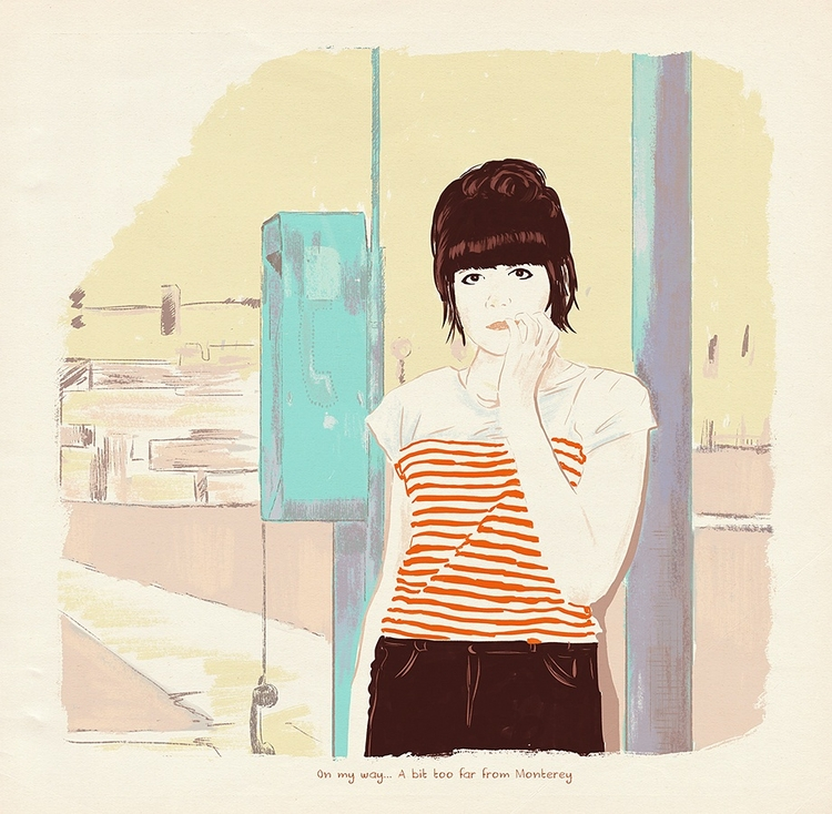 illustration, dessin, drawing - zoe_vadim | ello