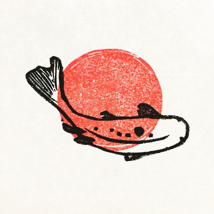 japan, japanese, koi, carp, pagoda - studiomalu | ello