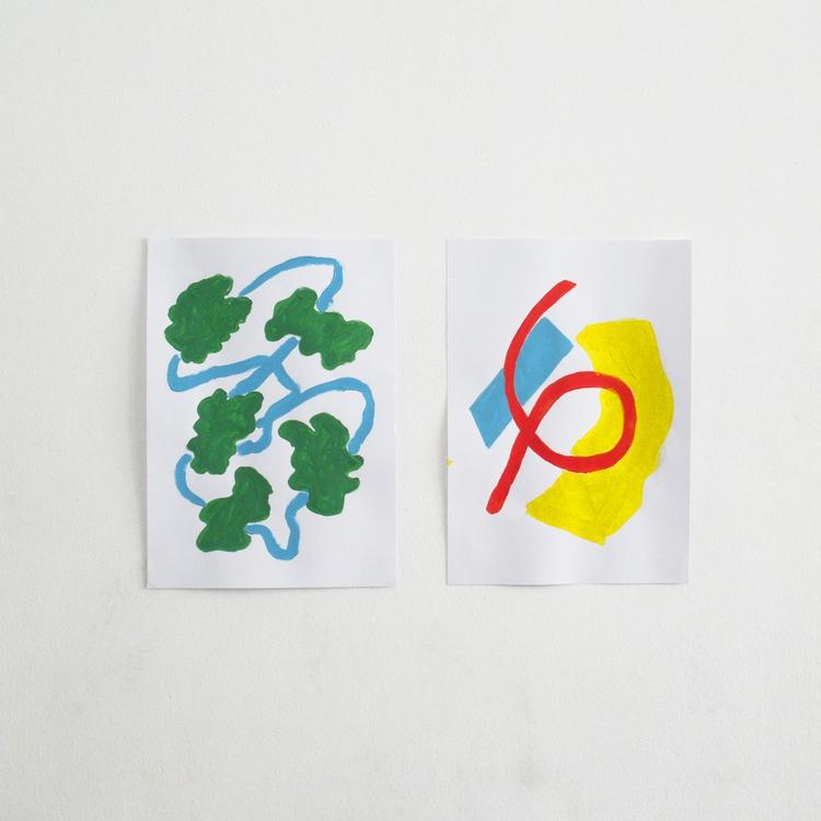 sketches, acrylic paper - art, painting - rodrigosotoalt | ello