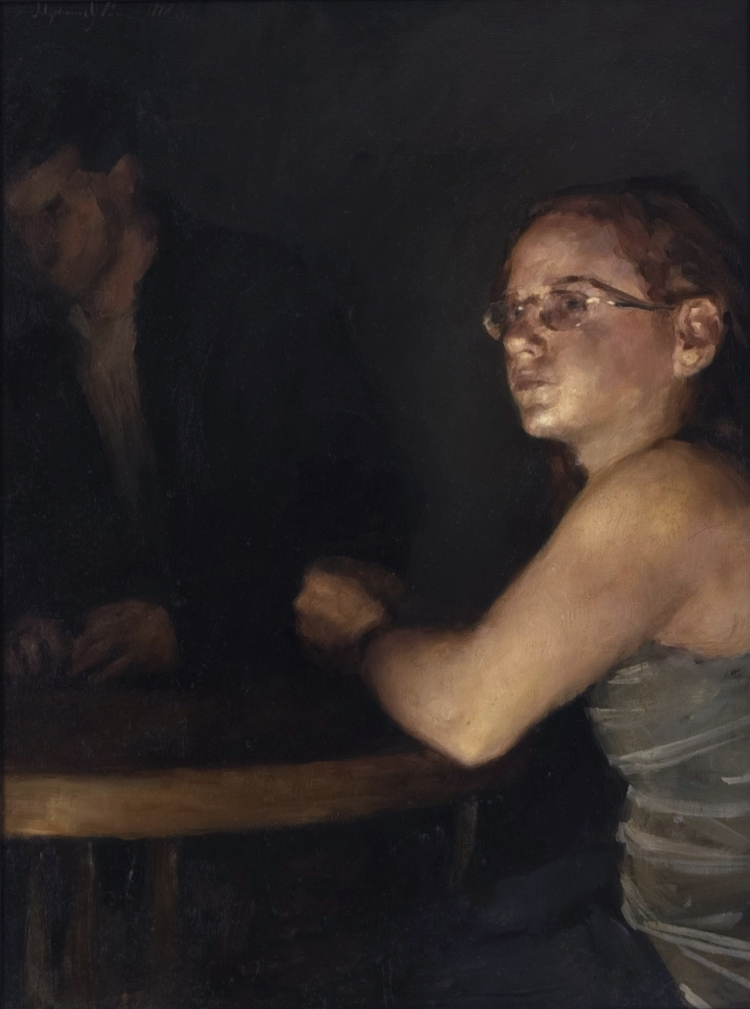 Table, Oil Canvas, 24x18 - stephaniedesh | ello