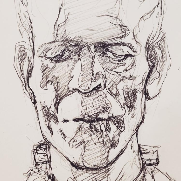 Sketchbook page. Graphite - samuelwoodfin | ello