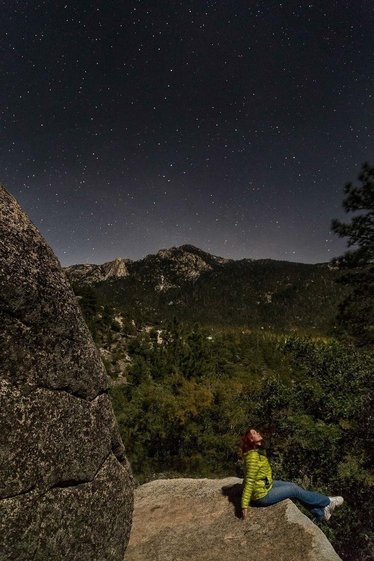 sky full stars. posted picture  - annashtraus   ello