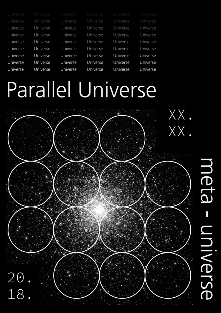 多重宇宙論。 Parallel universe. 設計 陳臆 - yiruchen   ello