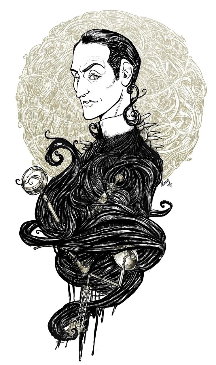 digital drawing Sherlock Holmes - saralutra | ello