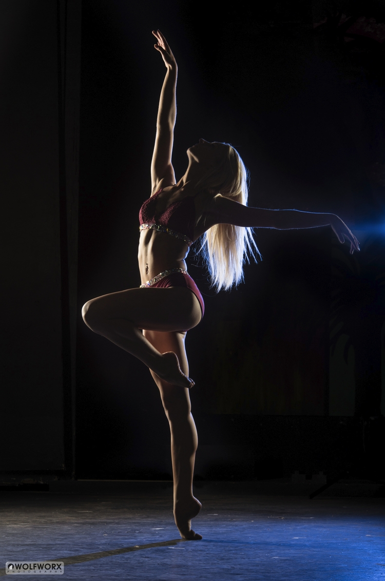 Backlit dancer - dance, photography - wolfworx_photography | ello