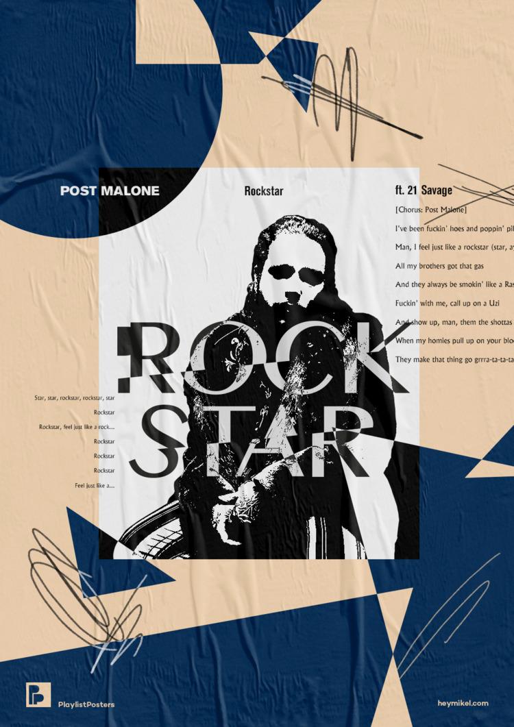 Playlist posters // Rockstar -  - heymikel | ello