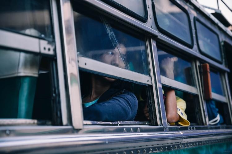 Bus serie. Chiang rai, Thailand - desdeelcamino | ello
