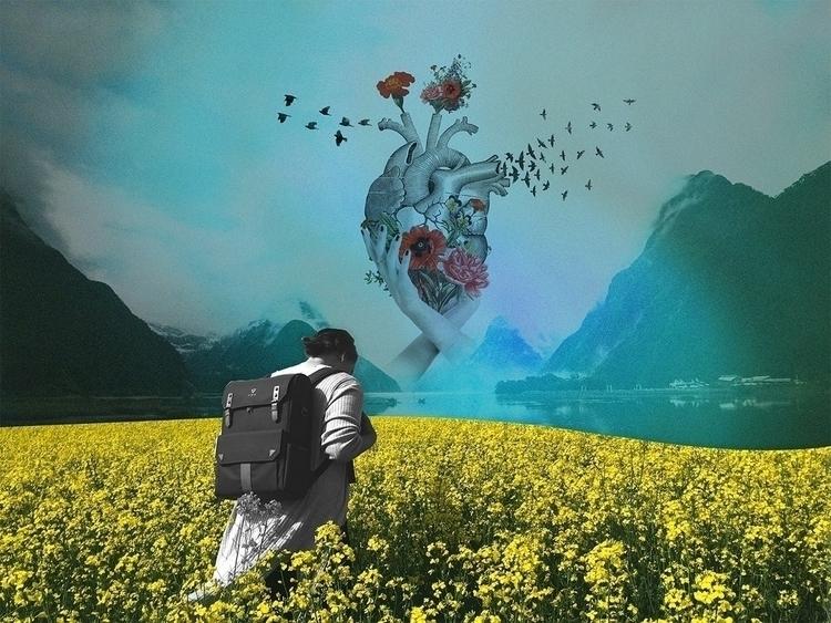 Panoramas Serie: Lost Traveller - sersinestesico   ello