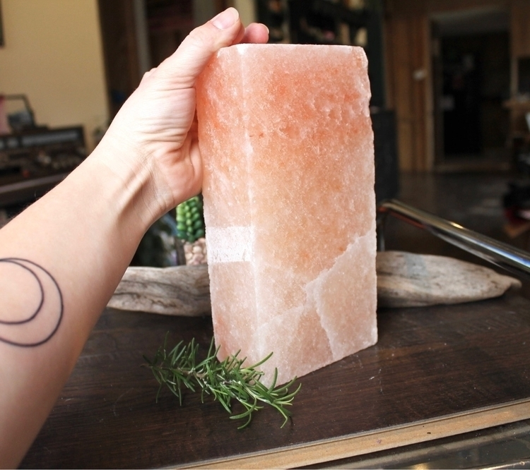 Check Himalayan salt brick .. h - mermaidtearshawaii | ello
