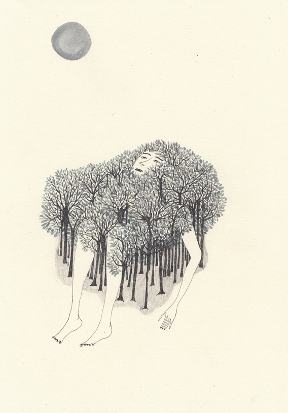 illustration poetry book Leucht - spoto | ello