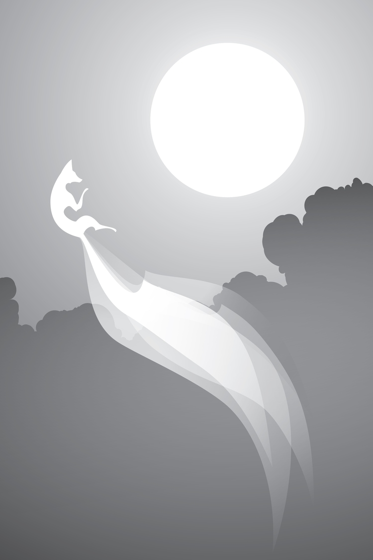Kitsune III - digital, fox, kitsune - alex_grund | ello