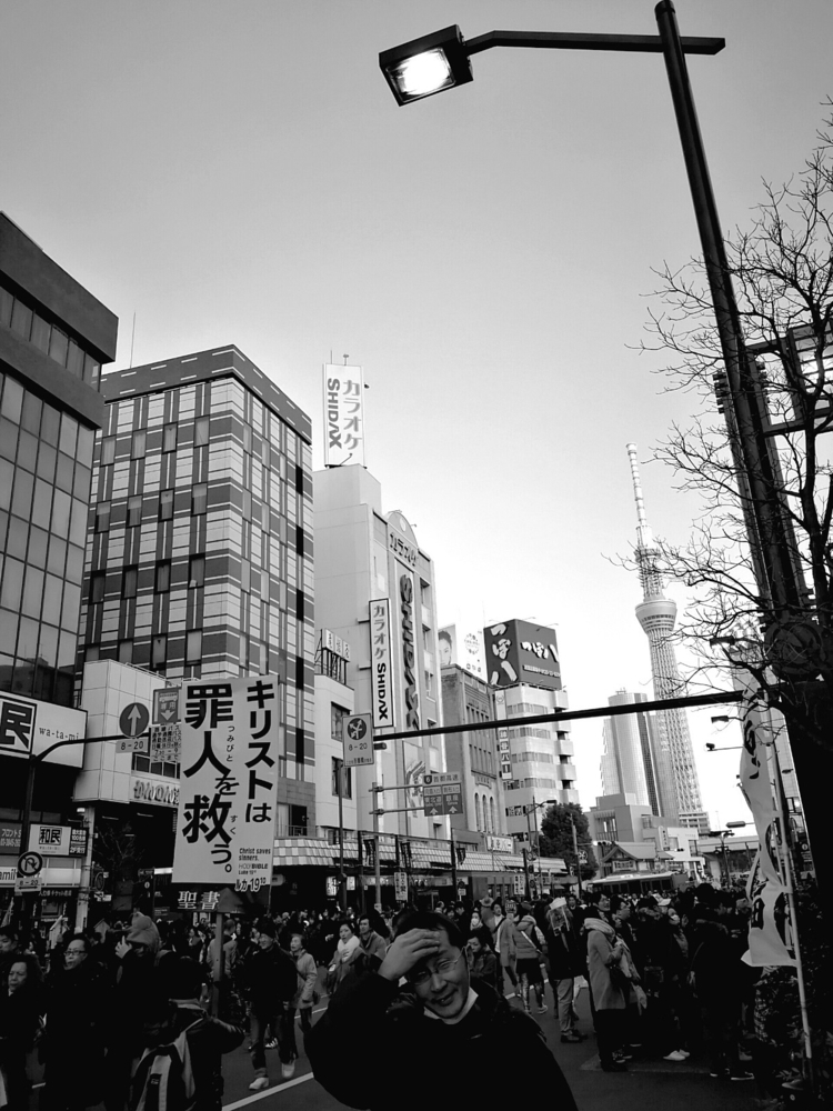 Tokyo 2017 - japan, tokyo, bw, street - leojh   ello