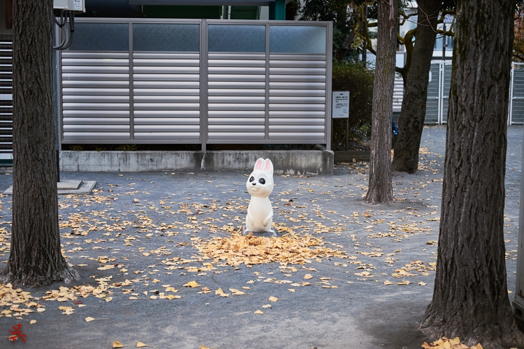 Bunny - Japan, Tokyo, Park, Statue - gullevek | ello