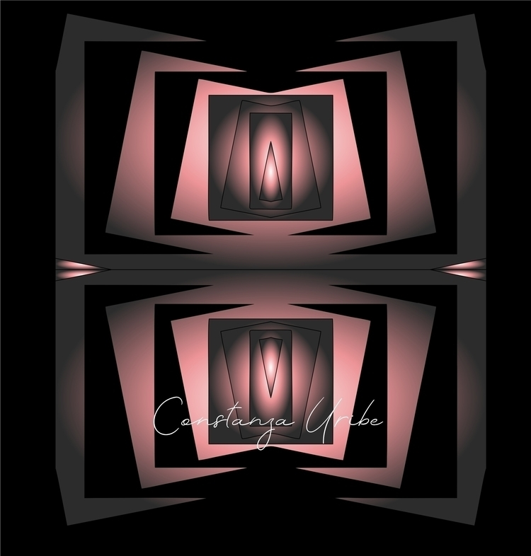 Puerta al Vacío Arte Digital so - constanzauribe | ello