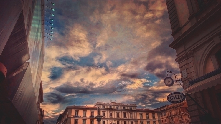 clouds, cityscape - andreabigiarini | ello