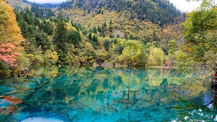 magnificent pool - Jiuzhaigou N - shutterstalk   ello