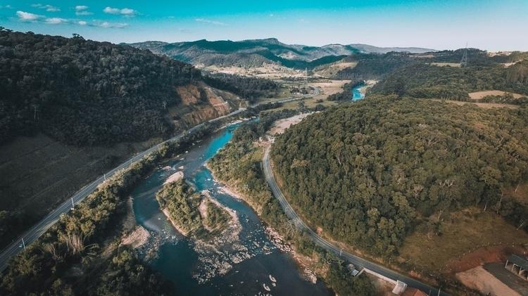 Photo Serra Mar Road drone DJI  - dionata | ello