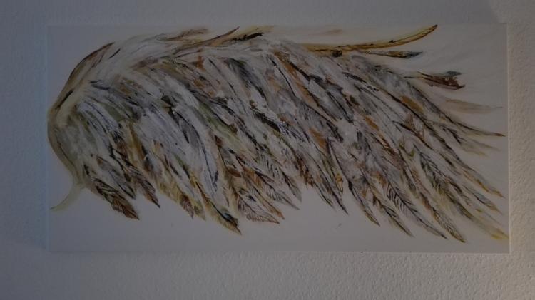 art, acryl, wings, wing - frankosch | ello
