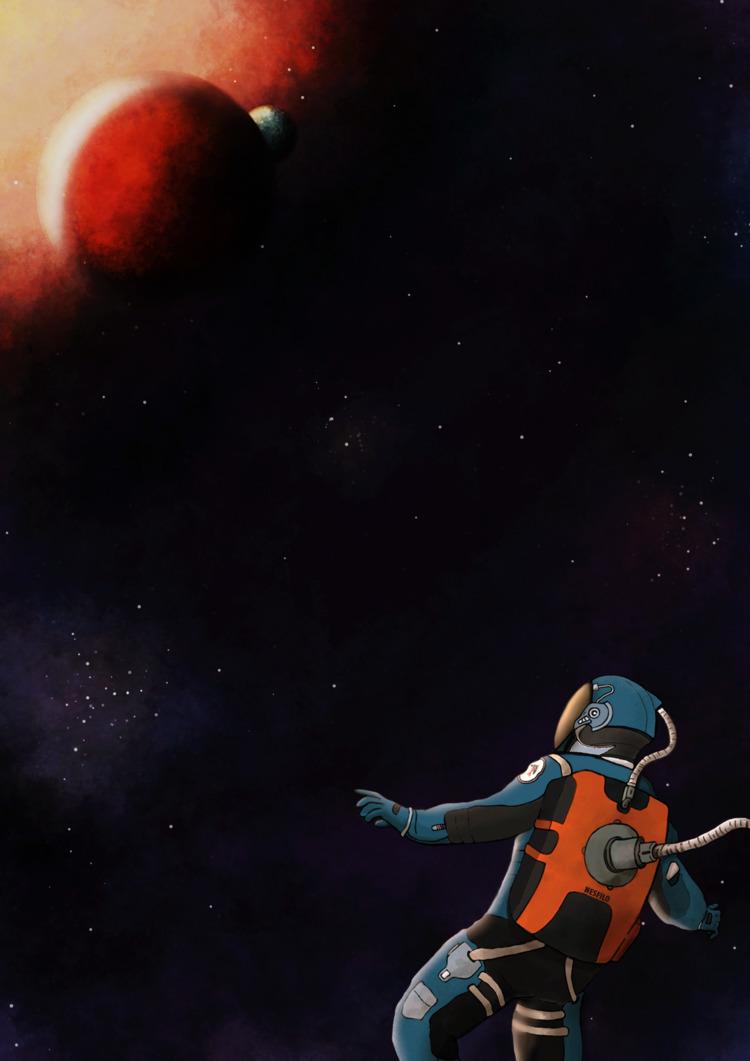 Spaceman time - nesfilo | ello