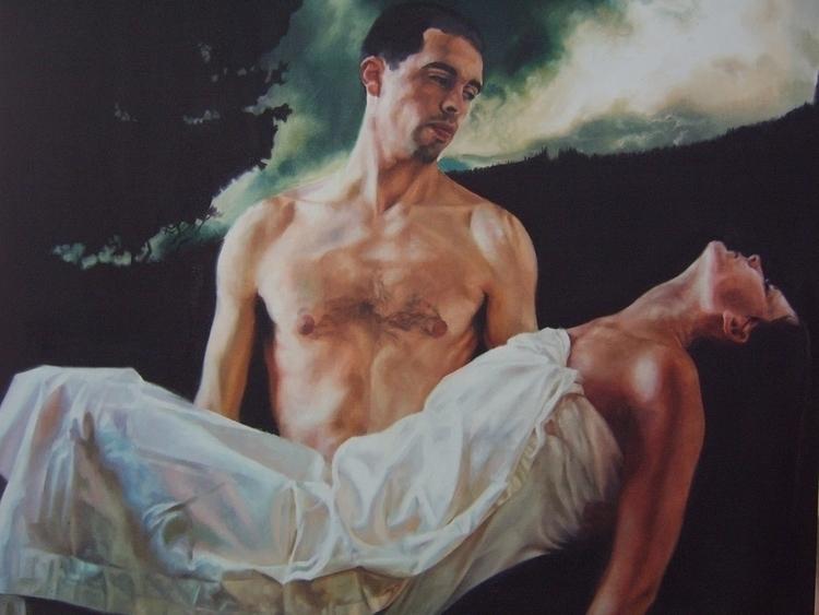 Alex Scottish, figurative paint - ajdewars | ello