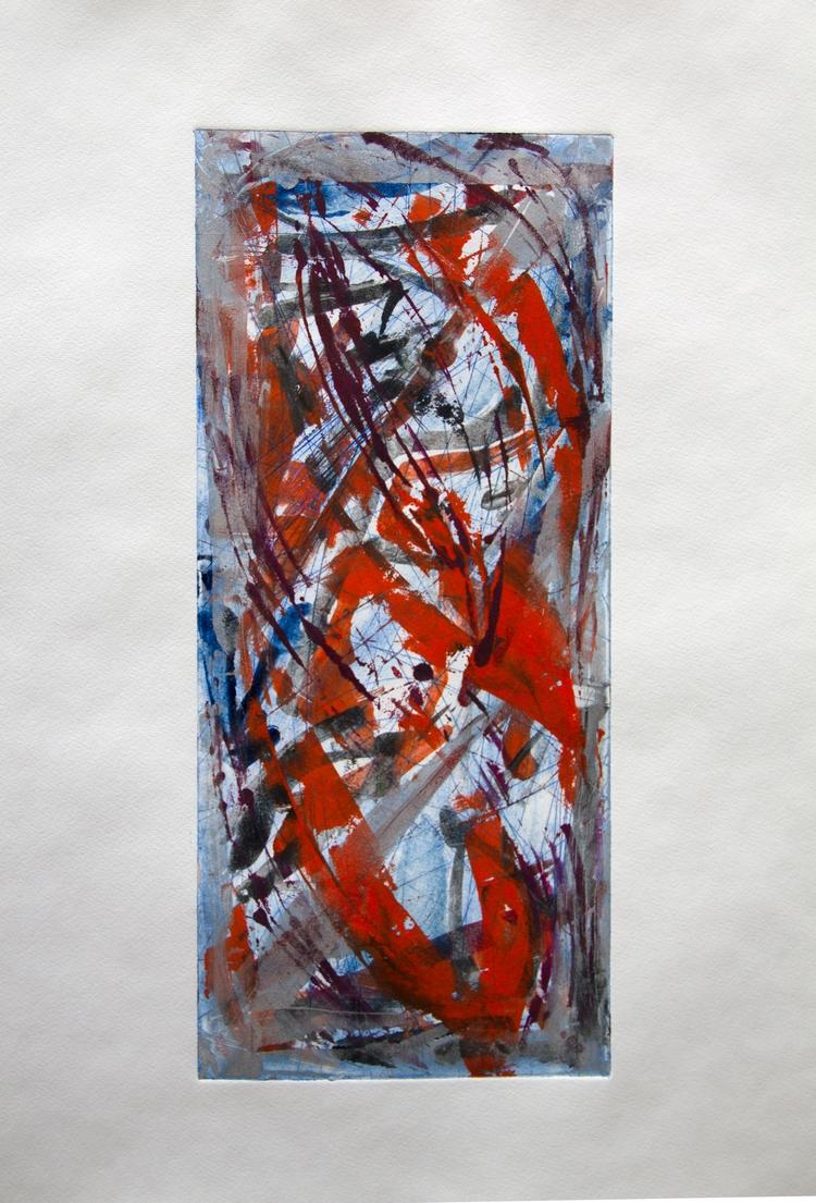 printmaking, abstract - elekz   ello