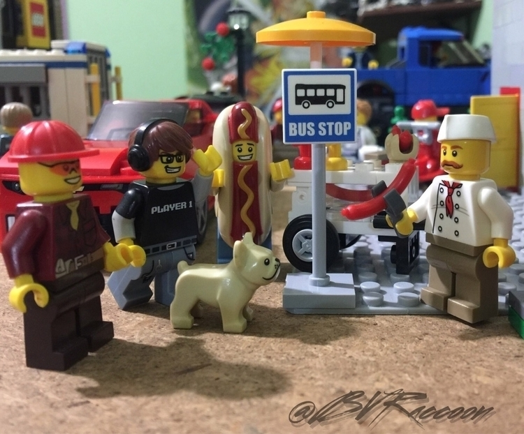 hot dog - lego, lego365, legostagram - belialvr | ello