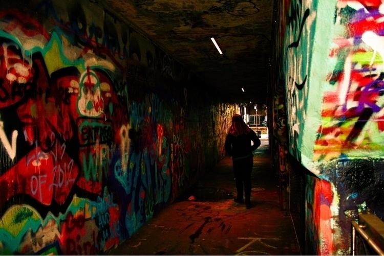 Graffiti underpass - wabearultra | ello