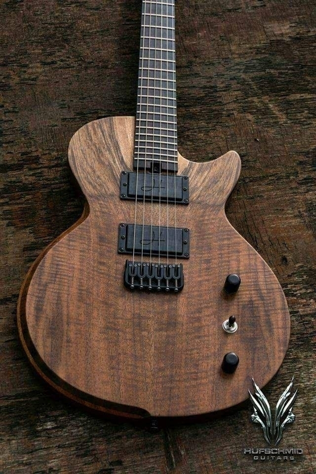 Hufschmid 'Tantalum' single cut - hufschmidguitars | ello
