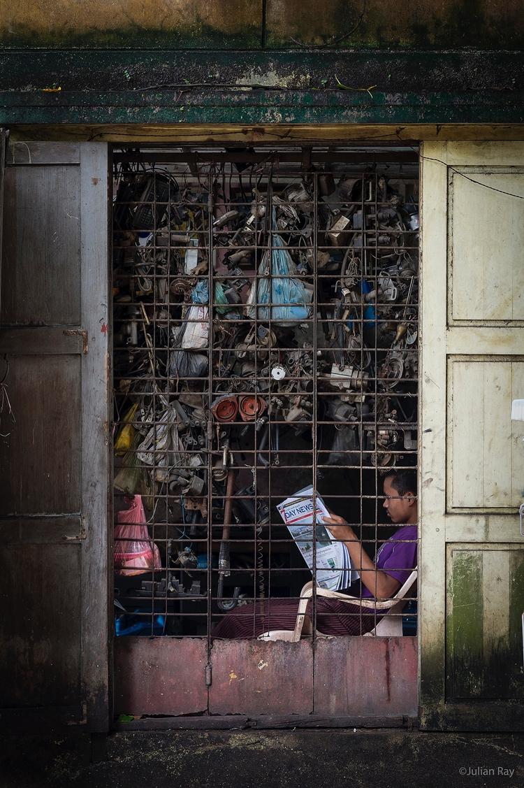 Catching work - myanmar, burma, textures - julianrayphotography | ello