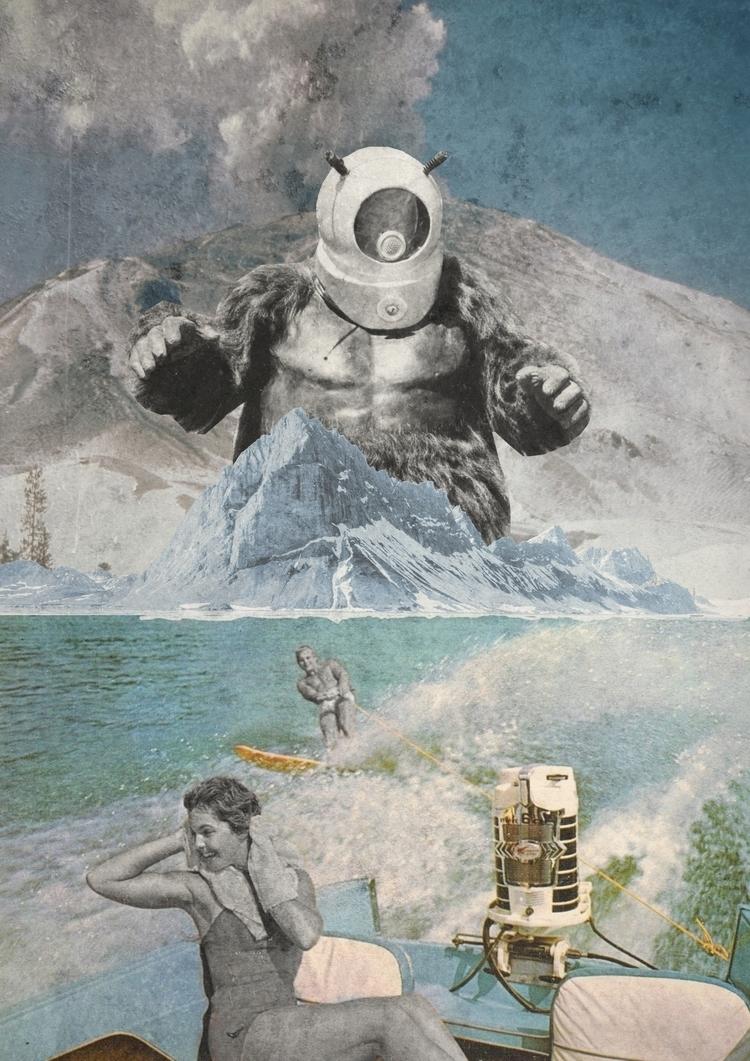ОСТЕРЕГАЙТЕСЬ МОНСТР - collage, collageart - gospodinkrugly | ello