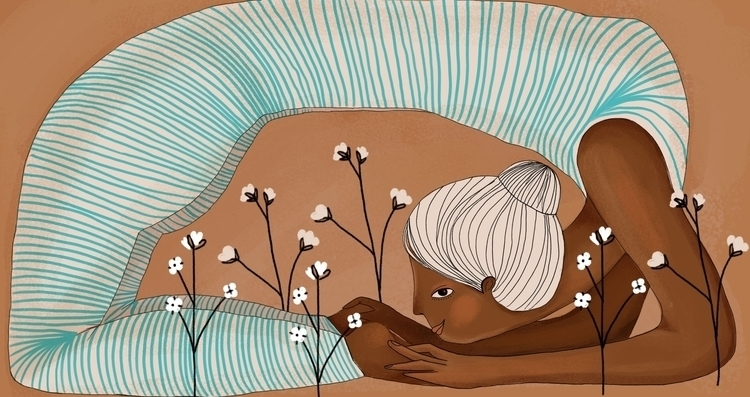Illustration Suav - yogaapparel - loretaisac   ello
