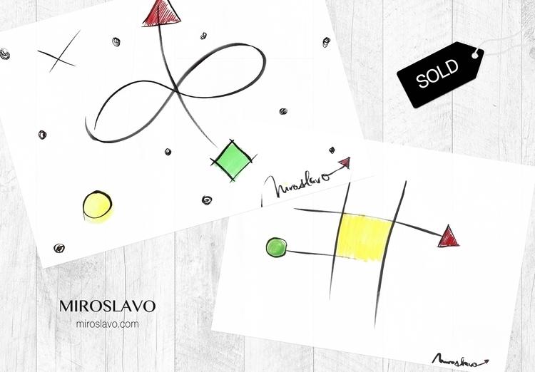 SOLD Original drawings Infinity - miroslavo | ello