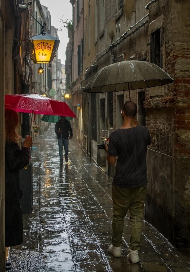 big rain ... Venice, Dorsoduro - mickinger | ello