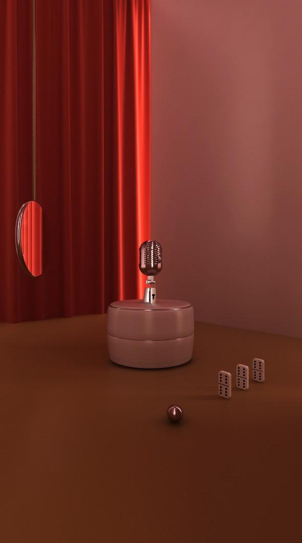 Domi Serie - setdesign, 3d, graphicdesign - kmjcr | ello