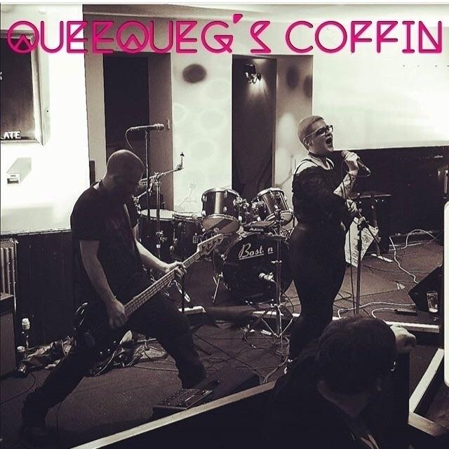 queequegscoffin, electro, electrorock - queequegscoffin | ello