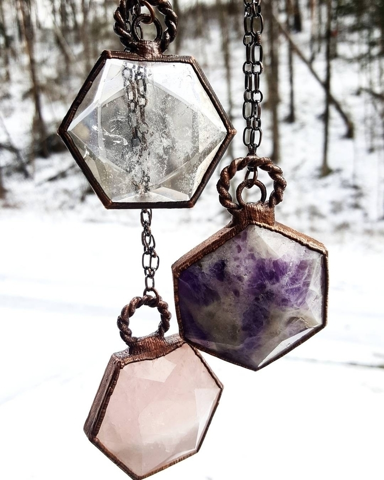 sacredgeometry, hexagons, crystals - gypsyhollow | ello
