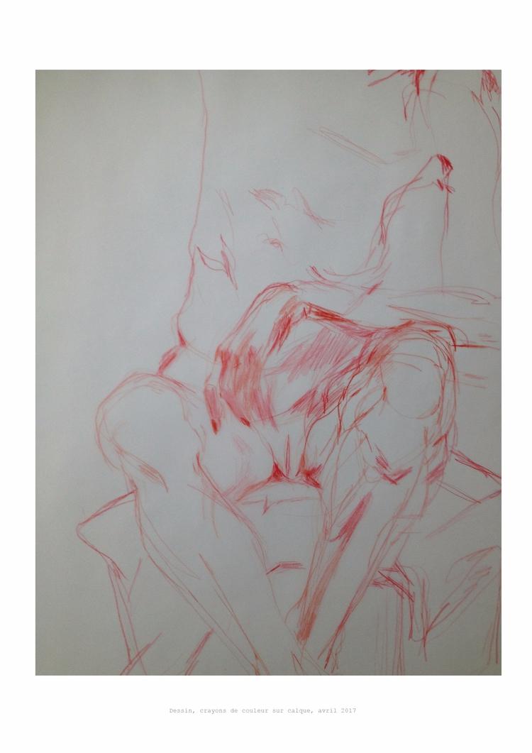 Corinne, dessin de Sarah Cassen - nonude-libre   ello
