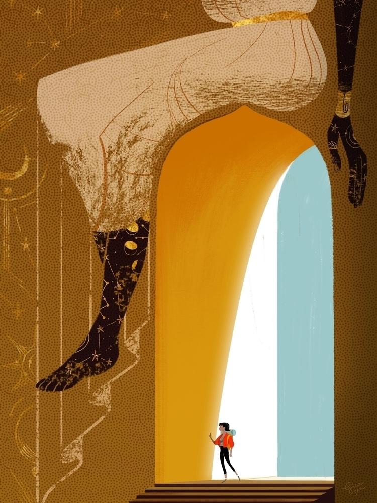 Saffron / golden aura mingles a - gicatam | ello