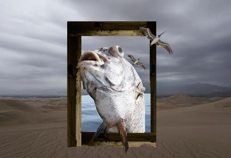 Escape - collage, photography, peruviandessert - kirapetrea   ello