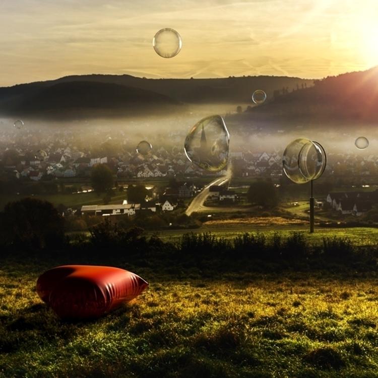 RENEW Photo - bubbles, 3d, 3dart - mographmartin   ello