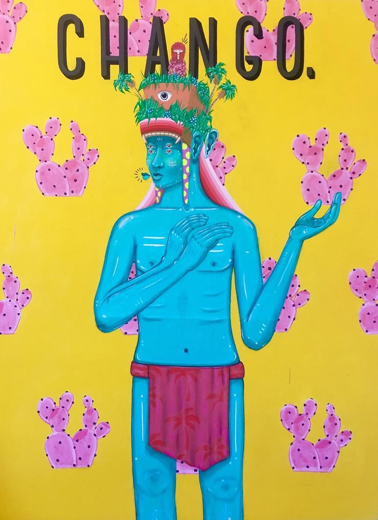 Artist muralist working residin - drigoart | ello
